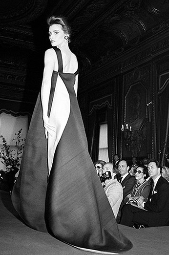 Carolina Herrera's first collection, 1981