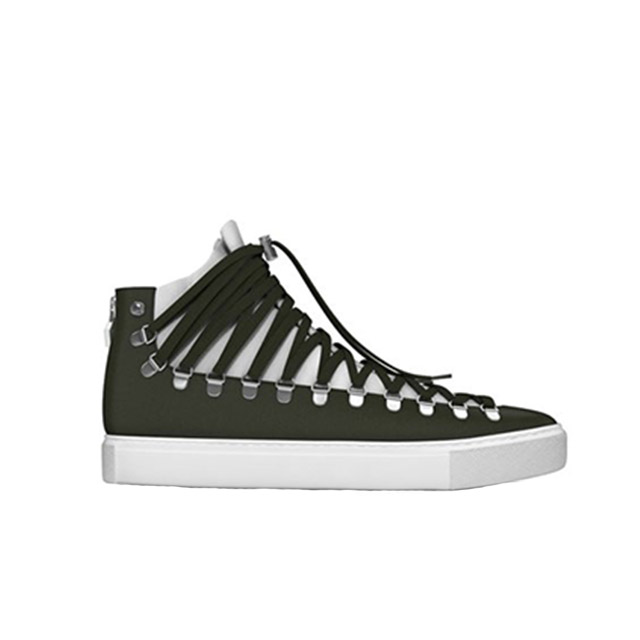 MYSWEAR Redchurch Hi-Top Sneakers £405