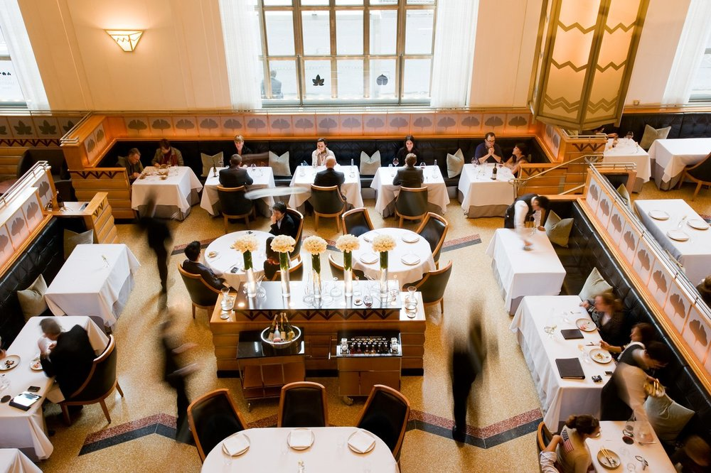 Eleven Madison Park    Photo: architecturaldigest.com