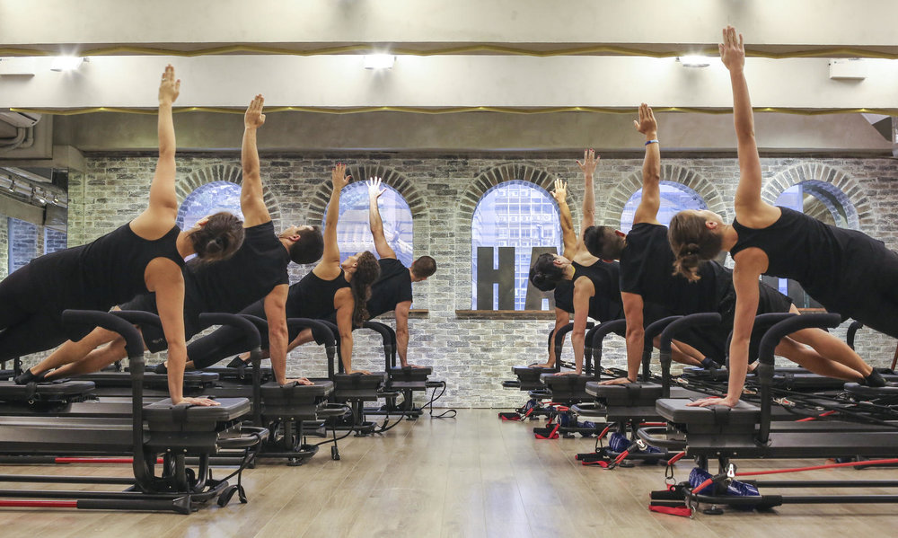 A Lagree Fitness class at H-Kore Gym in Hong Kong / Photo: South China Morning Post