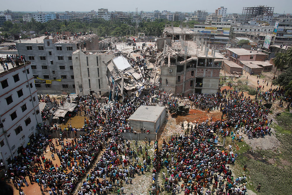 Rana Plaza Disaster / Photo: ibtimes.co.uk via Reuters