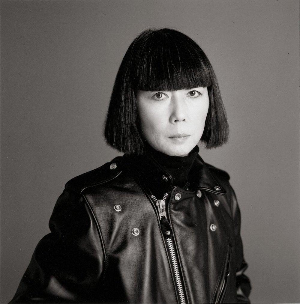 Rei Kawakubo photographed in Tokyo in 2005 / Photo: Eiichiro Sakata
