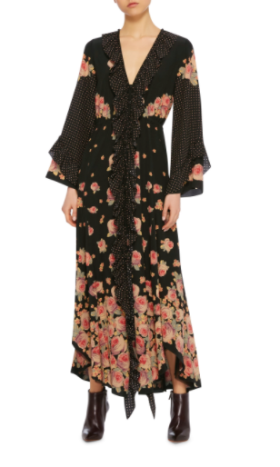 VILSHENKO Aventina Silk Maxi Dress £1,495