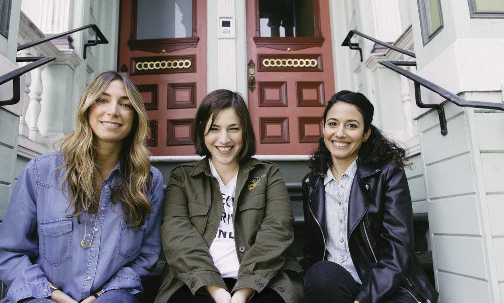 WISHI co-founders Clea O'Hana, Lia Kislev & Aya Elhanan