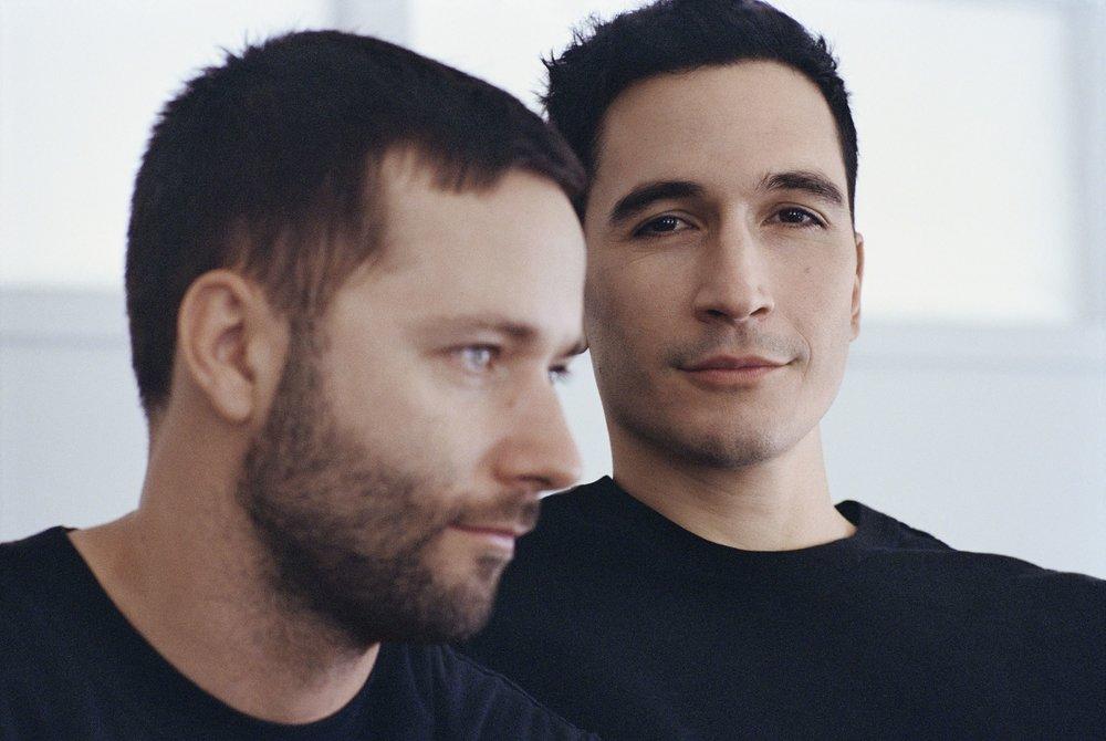 Lazaro Hernandez, right, pictured with Proenza Schouler design partner Jack McCollough