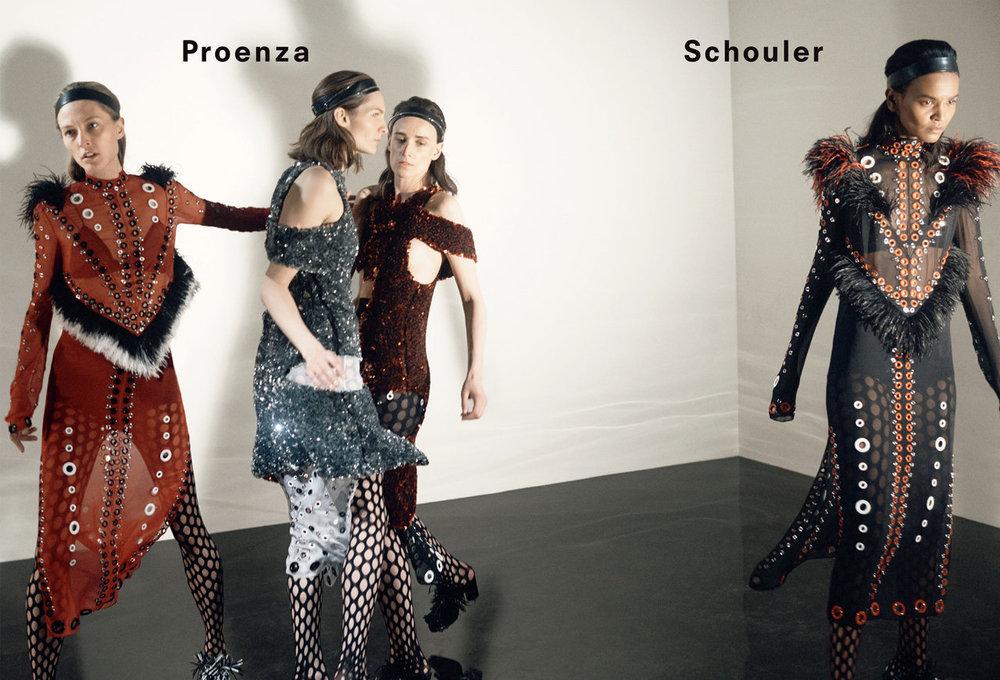 Proenza Schouler AW15 Campaign