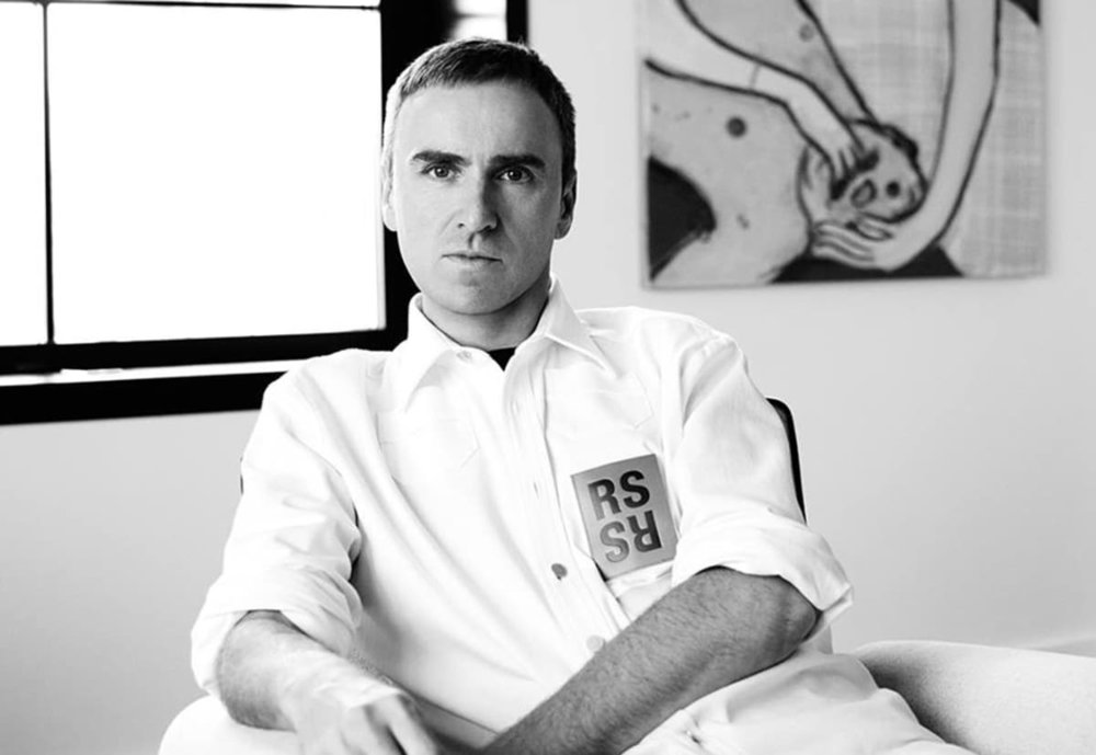 Raf Simons: Winner of Womenswear Designer of the Year & Menswear Designer of the Year