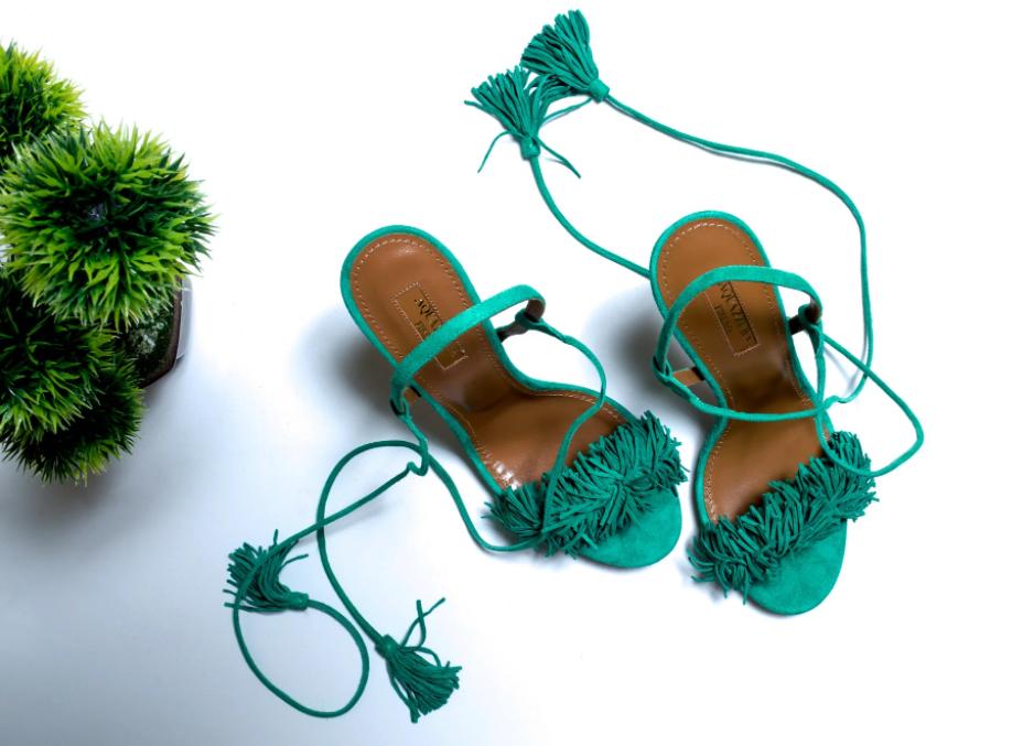 Aquazzura's statement-making Wild Thing sandals have achieved cult status