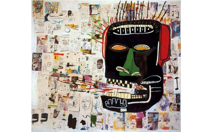 Jean-Michel Basquiat, Glenn, 1985 / Courtesy Private Collection