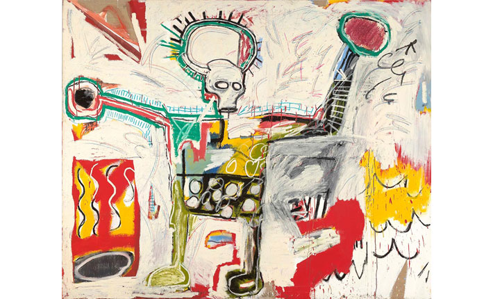 Jean-Michel Basquiat, Untitled, 1982 / Courtesy Museum Boijmans Van Beuningen, Rotterdam / Photo: Studio Tromp, Rotterdam