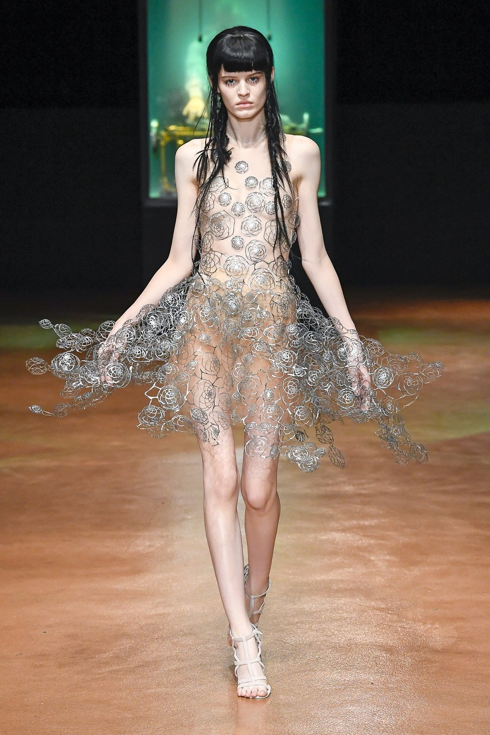 Pushing the boundaries - one of Iris van Herpen's experimental styles.