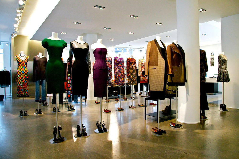 Colette's fashion-filled first floor