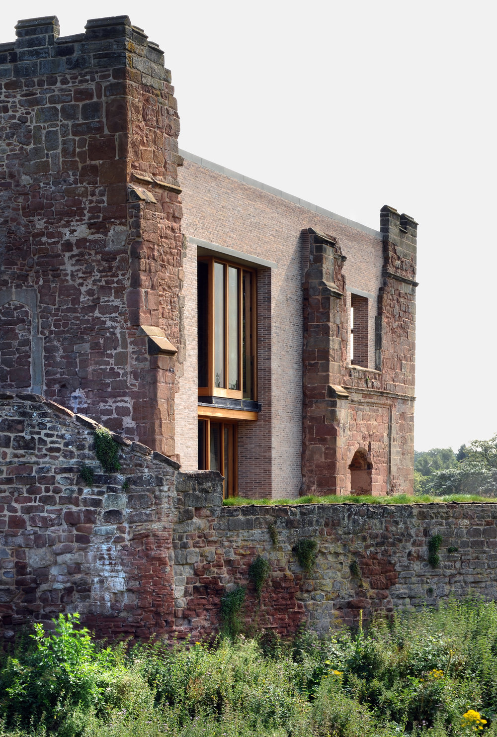 12th century meets 21st century. Astley Castle was awarded the Stirling Prize in 2013 for creativity, preservation and conservation / Photo: Philip Vile