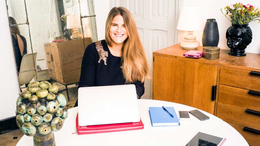 Tagwalk founder Alexandra Van Houtte