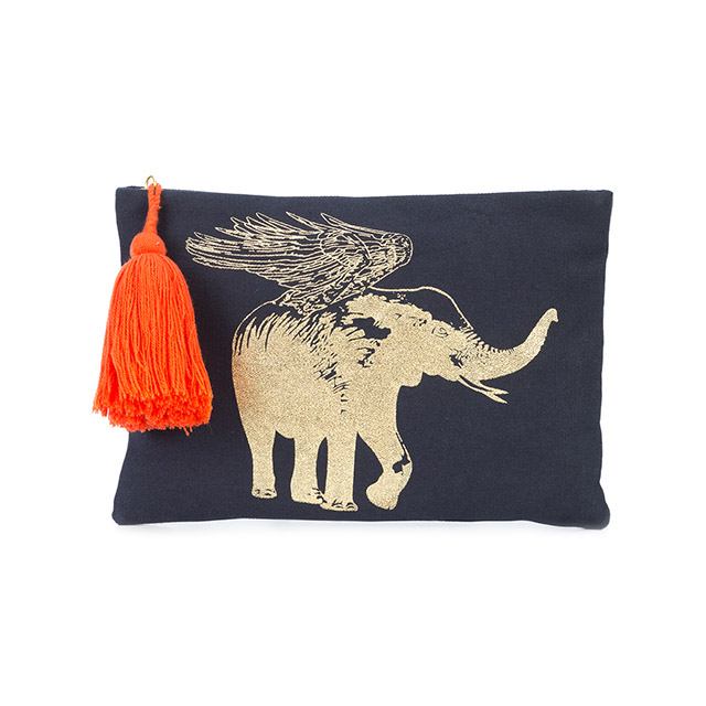 Limited edition Flying Elephant Pouch.