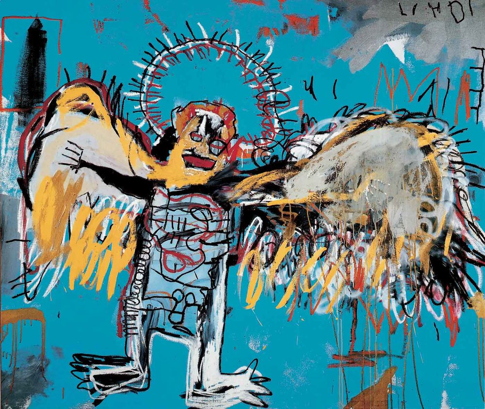 Untitled (Fallen Angel) 1981 by Jean-Michel Basquiat / basquiat.com