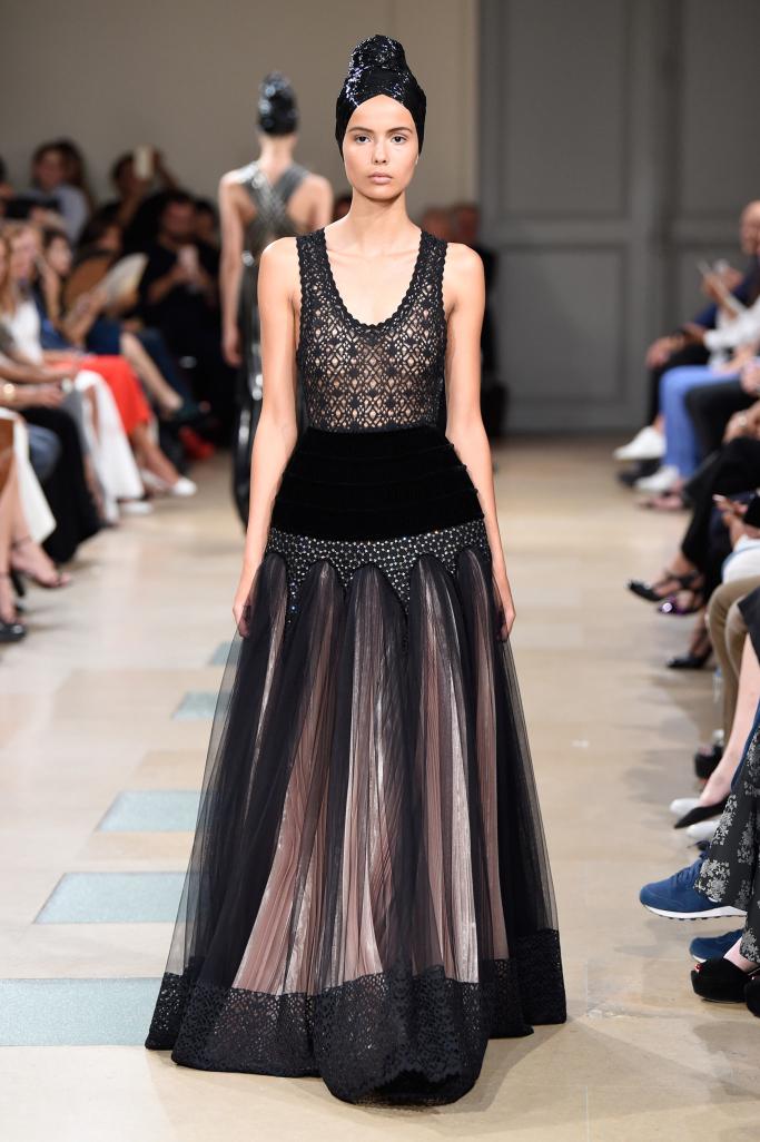 Alaïa Fall 2017 Couture / Photo: wwd.com