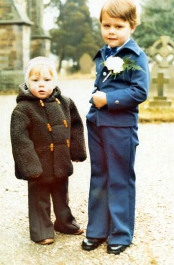 Simon with his brother Stephen circa 1979
