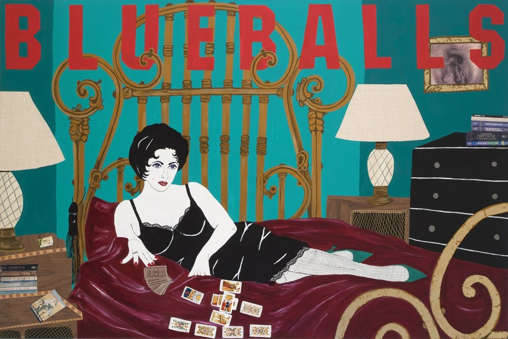 'Blueballs' (Cat On A Hot Tin Roof) 2007