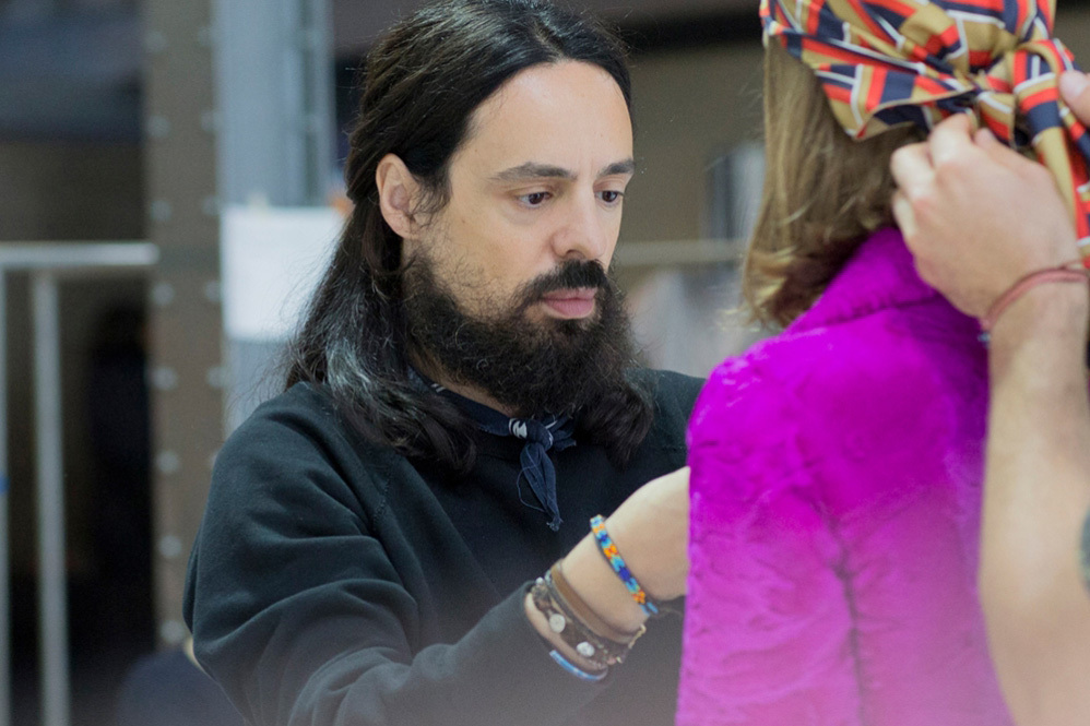 Alessandro Michele, creative director of Gucci.