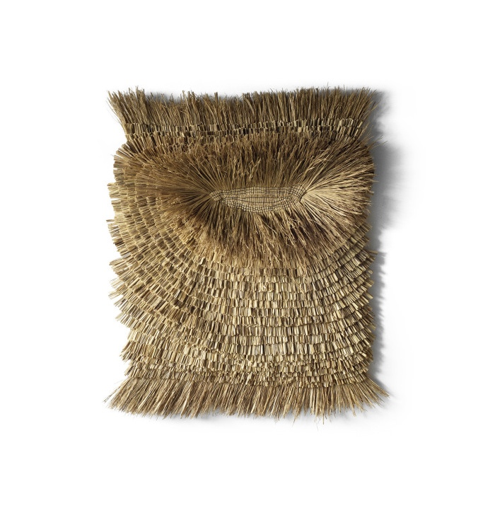Finalist Arko's rice straw wallhanging.