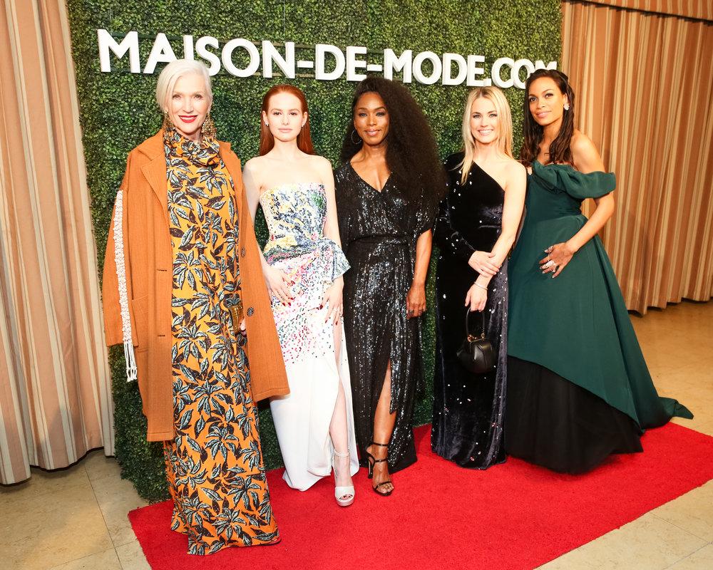 Maye Musk, Madelaine Petsch, Angela Bassett, Amanda Hearst and Rosario Dawson.