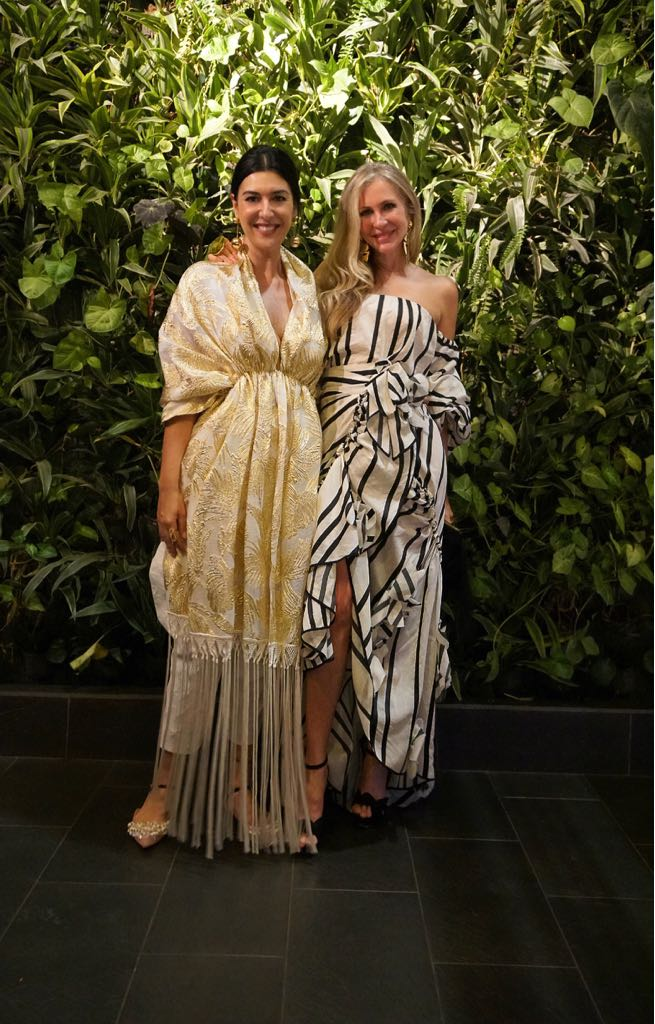 Carmen pictured with Omina co-founder and CEO Andrea Somma