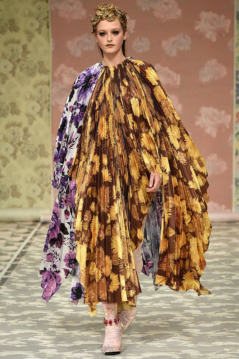 Richard Quinn AW18 / Photo: vogue.com