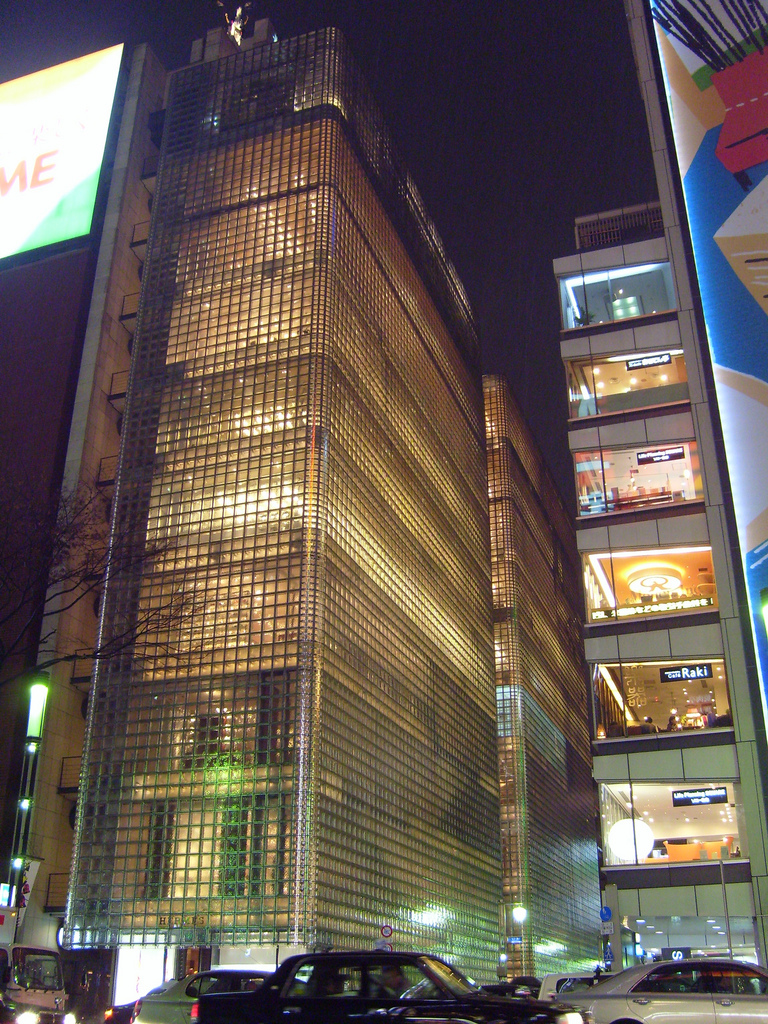 Maison Hermes, Tokyo, by Renzo Piano