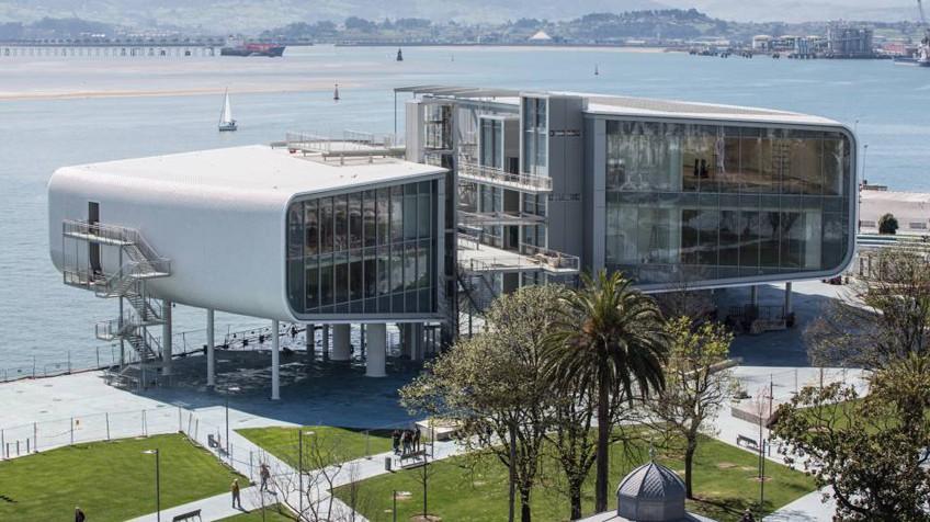 El Centro Botín, Santander, Spain, by Renzo Piano
