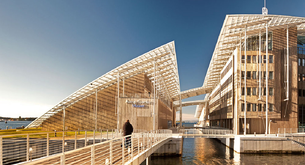 Astrup Fearnley Museet, Norway, by Renzo Piano