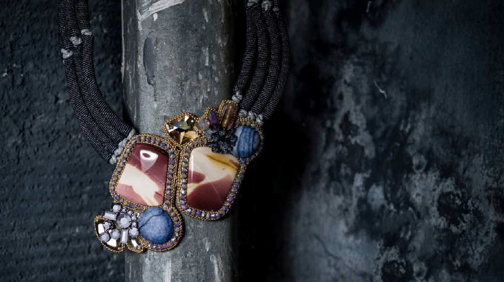 'Ishtar' necklace from the designer's 2018 collection.