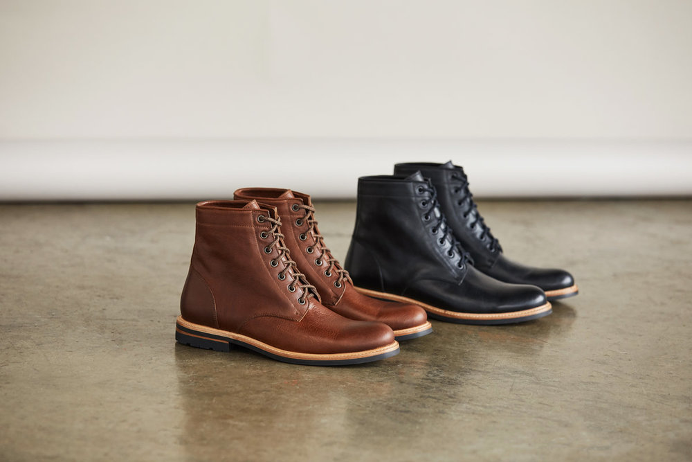 Nisolo 'Andres' All-Weather Boots - the company's first water-resistant style that features natural oil-based and vegetable-tanned leather.