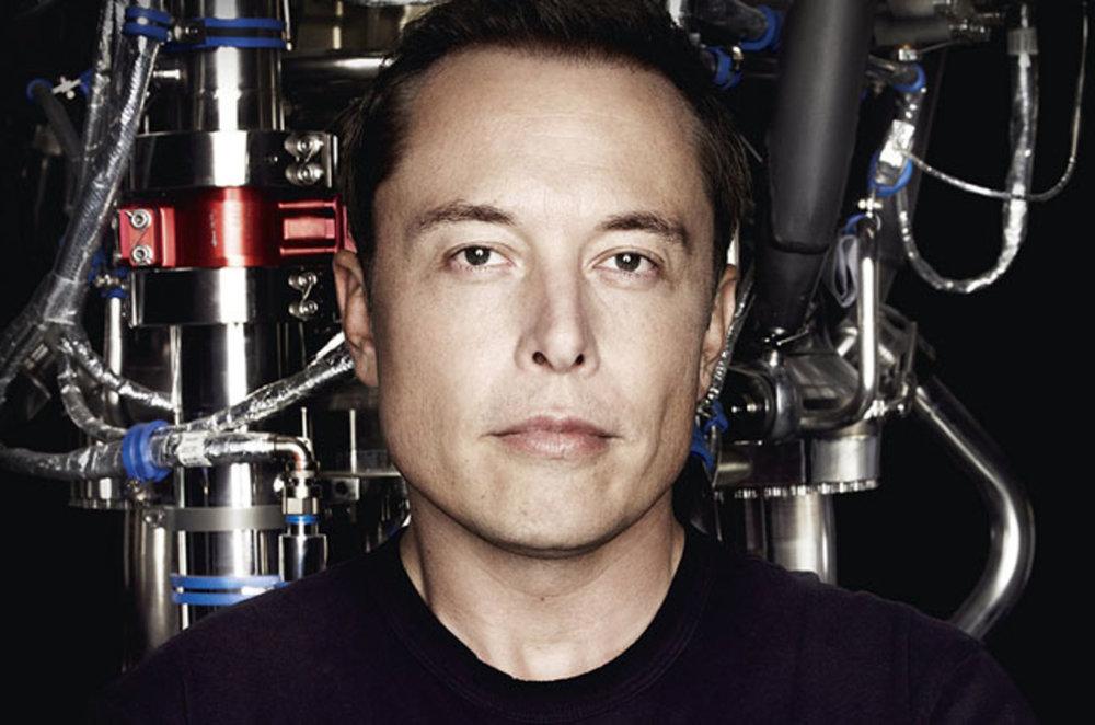 Entrepreneur Elon Musk.