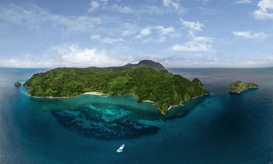 Cocos Island is often rated one of the top 10 best places to scuba dive in the world.