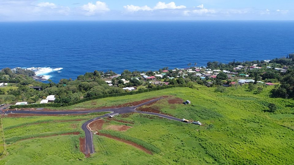 View of Kuwili Lani agrihood on Hawaii Island.