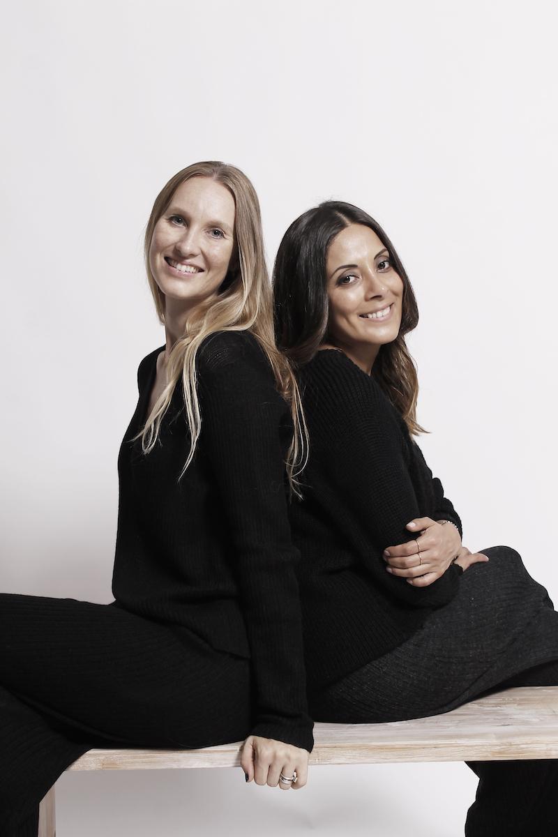 AYNI founders Laerke Skyum and Adriana Cachay.
