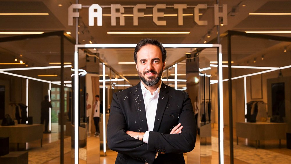 Farfetch founder and CEO, José Neves.