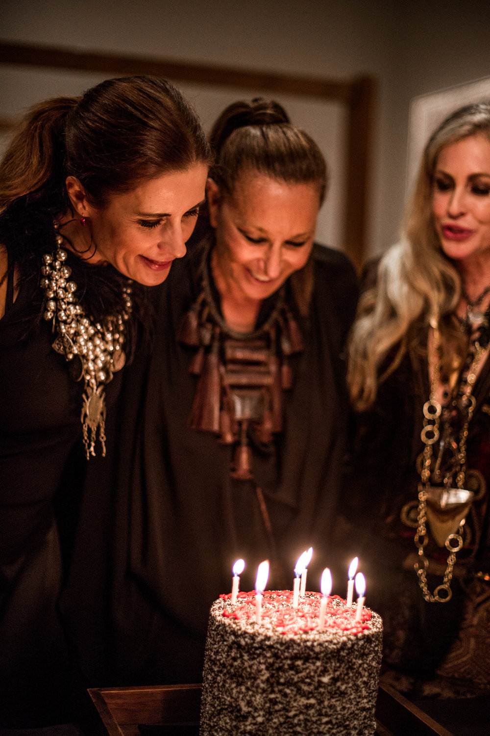 It was also the birthday of our hostess, Donna, which we celebrated with cake / Photo: Charlie Johnson.