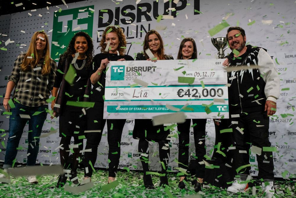 Lia Diagnostics was the winner of Start-up Battlefield in Berlin in 2017.