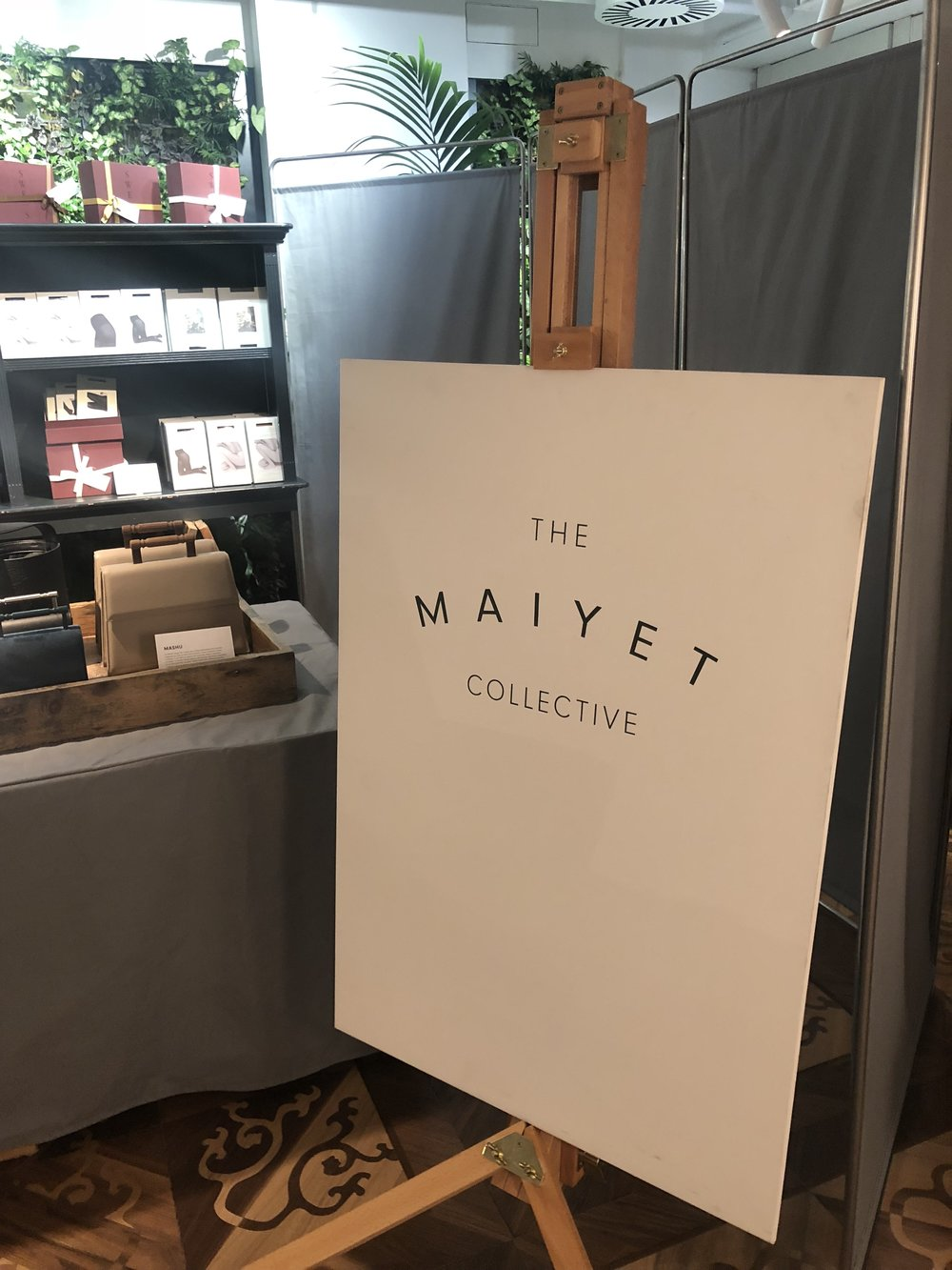 The pop-up at The Conduit members-only club in Mayfair, London.