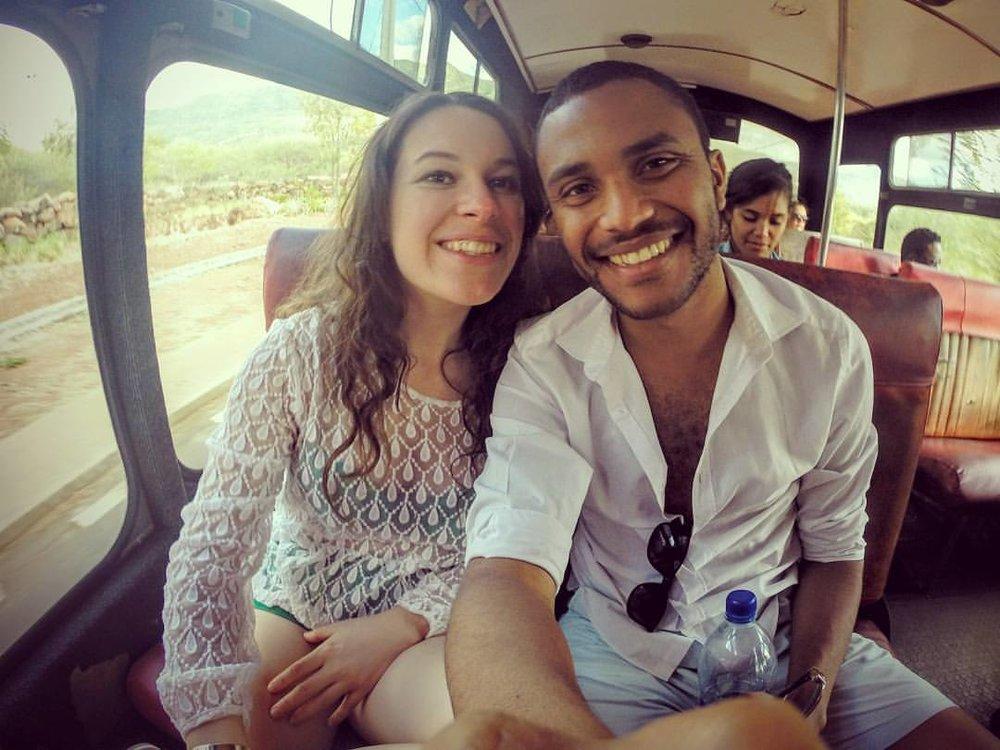 Mauritius Conscious founders Romina Tello Soberanes and Gerald Ami / Photo: Branza Magazine.