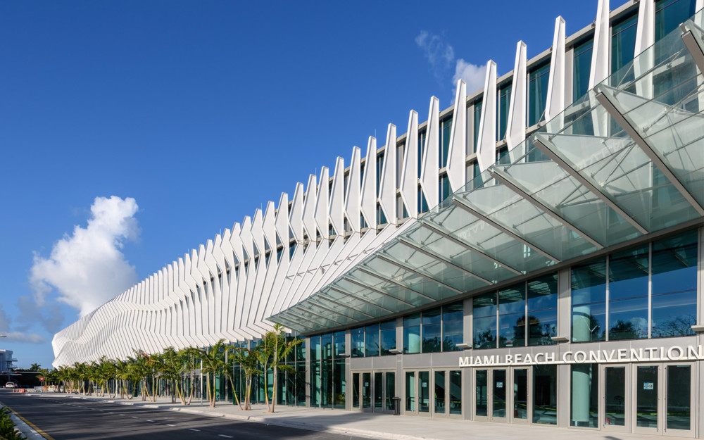 The newly renovated Miami Beach Convention Center is Art Basel's new standout and sustainable Miami Beach home.