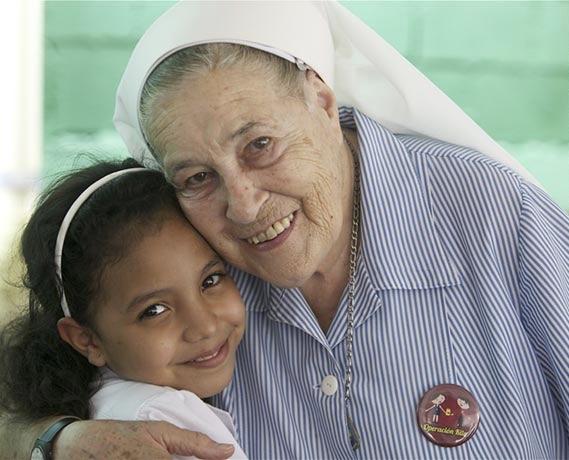 Fundacion founder, Mother Maria Luisa Casar Castanedo.