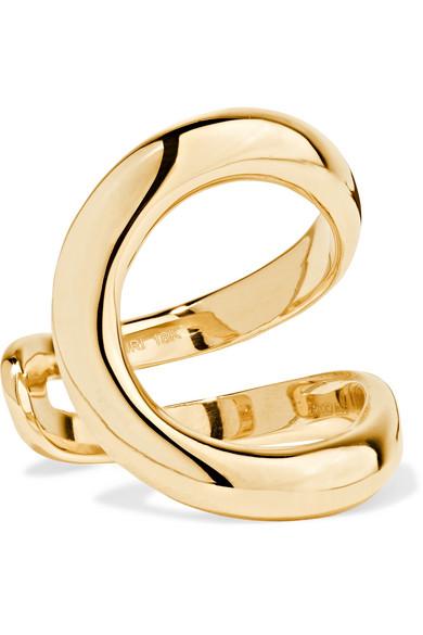 Mirian 18K gold ring.