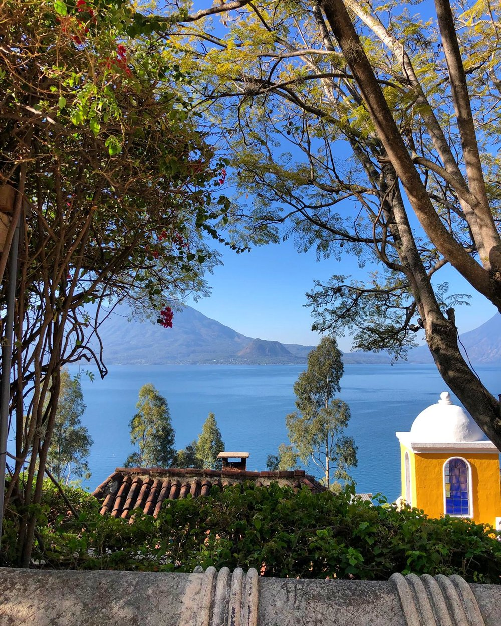 Guatemala's Lake Atitlán is home to a dozen Mayan communities.