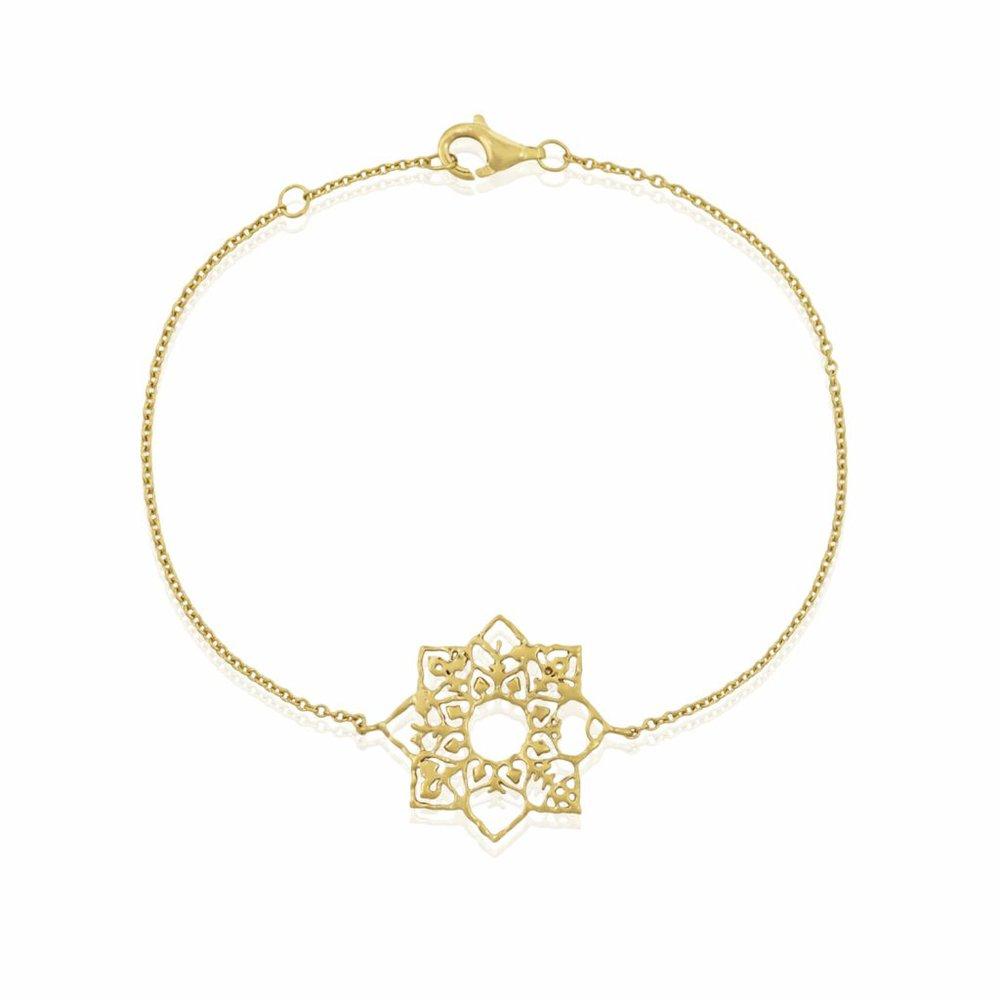 Natalie Perry's Full Flower Bracelet.