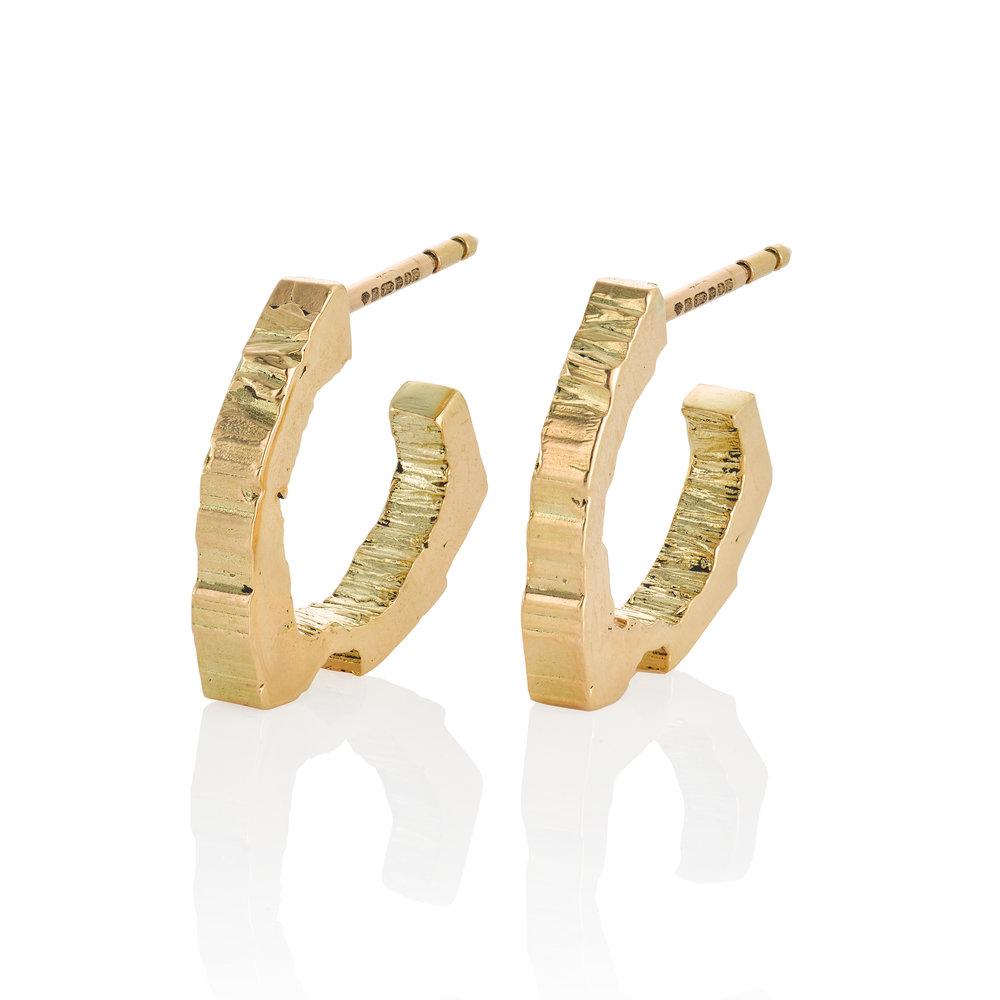 Rock Hound's RockStars Hoop Earrings.