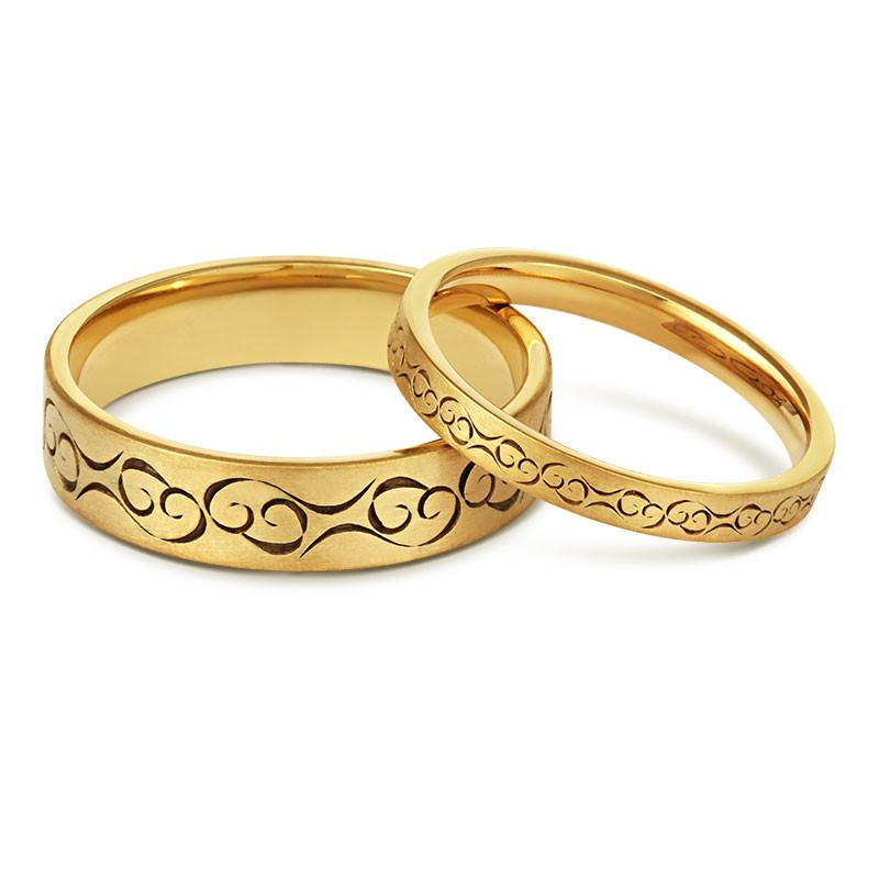 Cred's Celtic Love Wedding Ring.