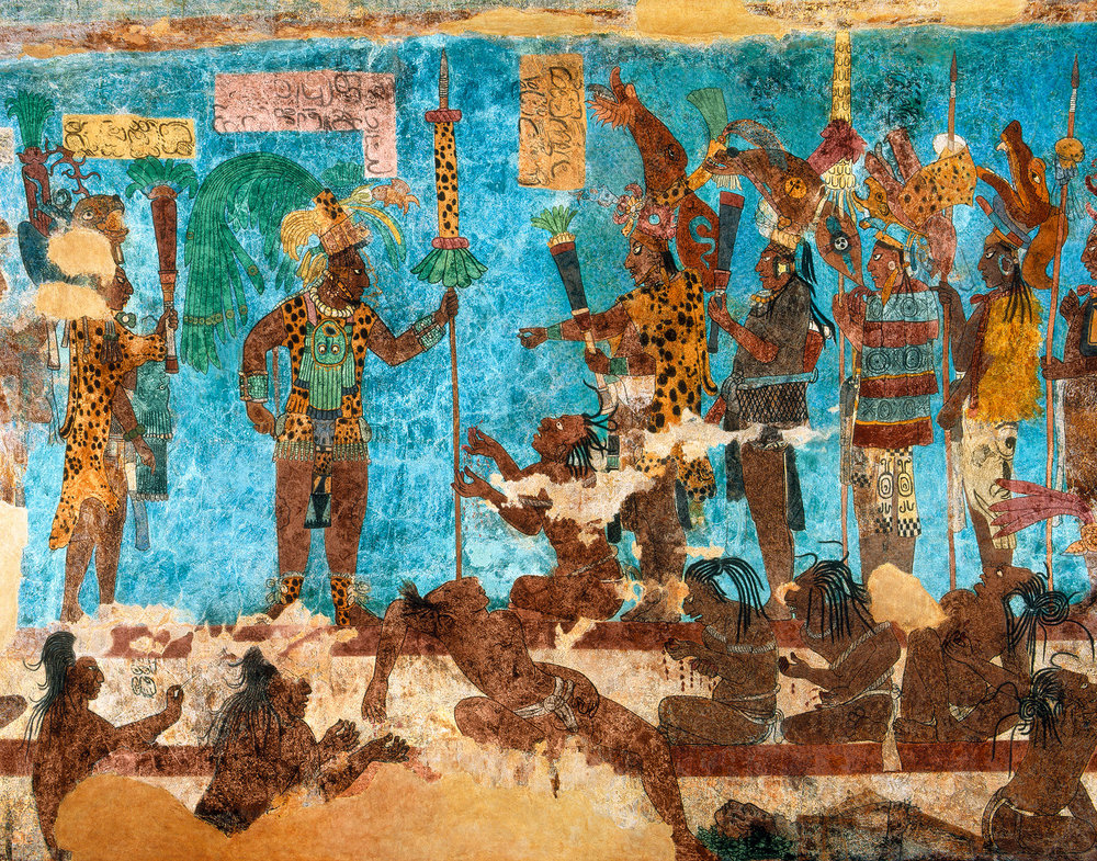 Previously thought to live a largely peaceful existence, the Maya were engaged in longterm warfare / Photo: Enrico Fererelli / Art Enhancement: Doug Stern, Nat Geo Image Collection.